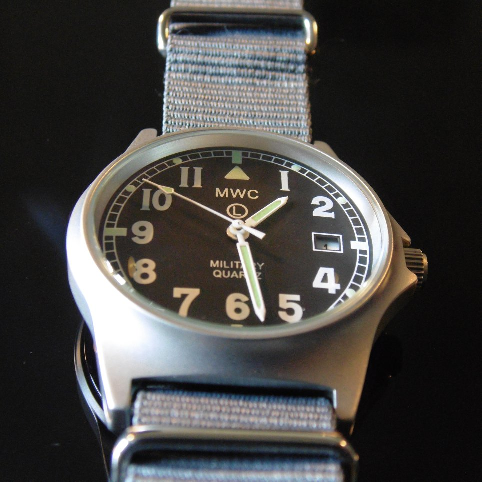 MWC G10 LM Military Watch (Grey Strap) - Watchfinder General - UK suppliers of Russian Vostok Parnis Watches MWC G10  - 4