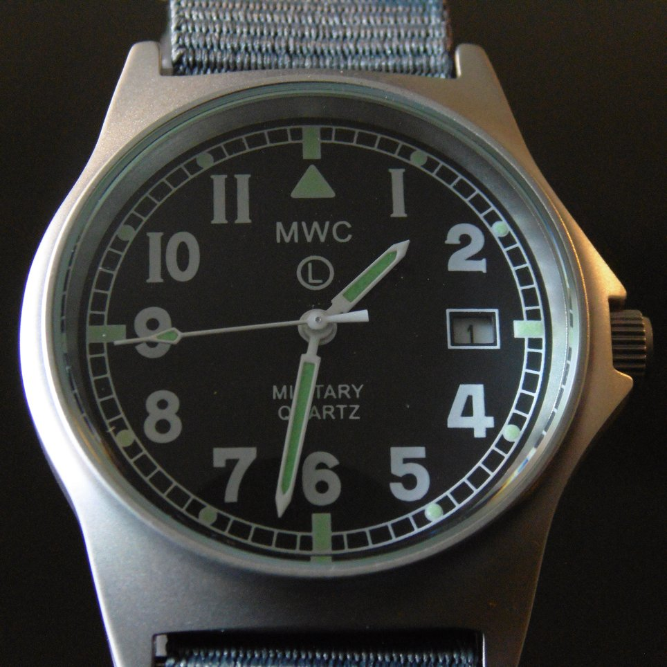 MWC G10 LM Military Watch (Grey Strap) - Watchfinder General - UK suppliers of Russian Vostok Parnis Watches MWC G10  - 5