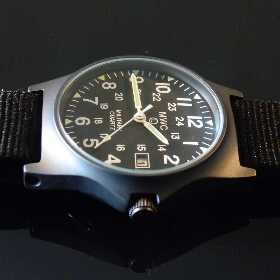 MWC G10 LM Military Watch PVD 12/24 Dial - Watchfinder General - UK suppliers of Russian Vostok Parnis Watches MWC G10  - 4