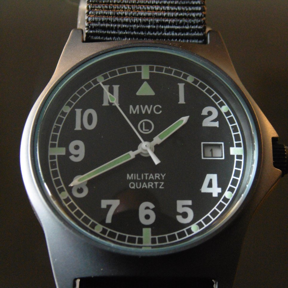 MWC G10 LM Military Watch PVD - Watchfinder General - UK suppliers of Russian Vostok Parnis Watches MWC G10  - 4