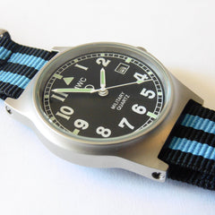 MWC G10 LM Military Watch (Black and Blue Nato Strap) - Watchfinder General - UK suppliers of Russian Vostok Parnis Watches MWC G10  - 2