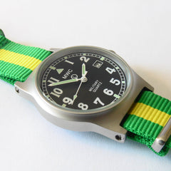 MWC G10 LM Military Watch (Brazil Strap) - Watchfinder General - UK suppliers of Russian Vostok Parnis Watches MWC G10  - 2