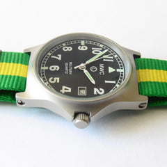 MWC G10 LM Military Watch (Brazil Strap) - Watchfinder General - UK suppliers of Russian Vostok Parnis Watches MWC G10  - 3