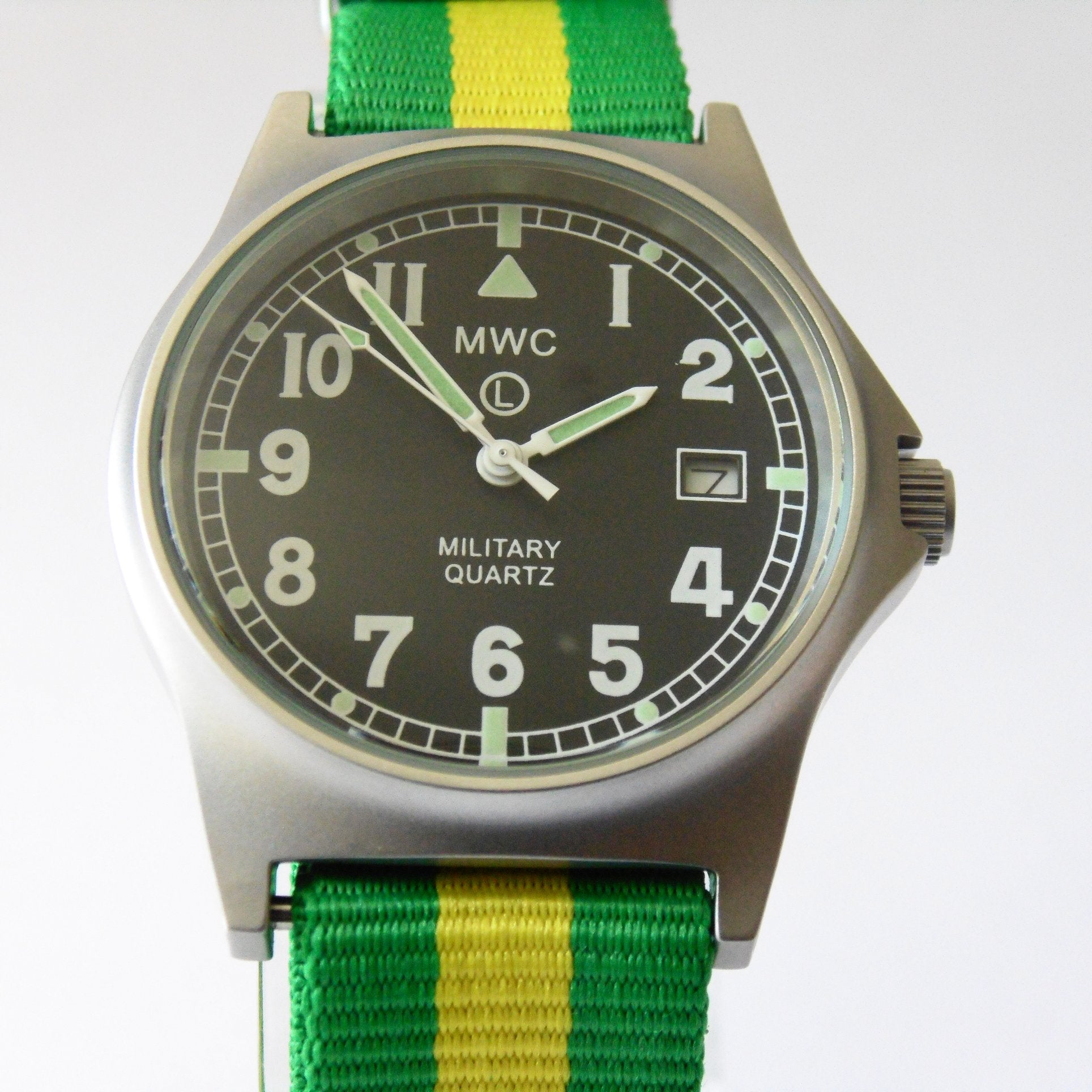 MWC G10 LM Military Watch (Brazil Strap) - Watchfinder General - UK suppliers of Russian Vostok Parnis Watches MWC G10  - 1