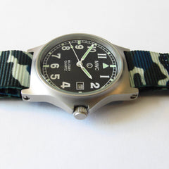 MWC G10 LM Military Watch (Camouflage Nato Strap) - Watchfinder General - UK suppliers of Russian Vostok Parnis Watches MWC G10  - 3