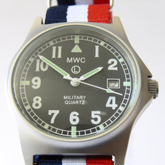 MWC G10 LM Military Watch (French Strap) - Watchfinder General - UK suppliers of Russian Vostok Parnis Watches MWC G10  - 1