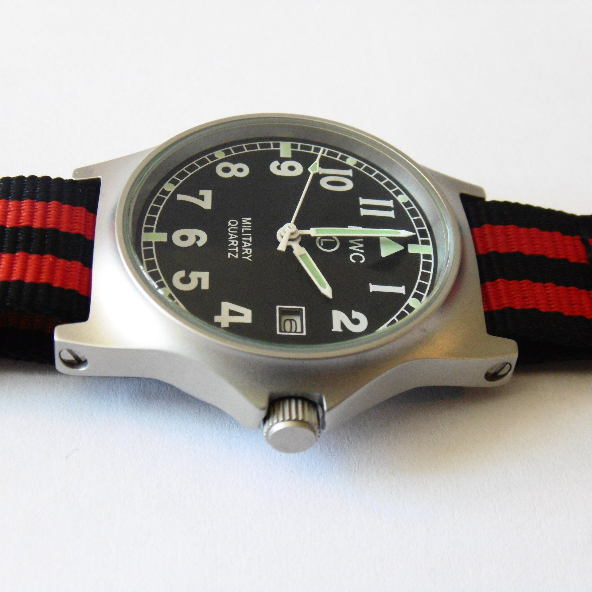 MWC G10 LM Military Watch (Luftwaffe Strap) - Watchfinder General - UK suppliers of Russian Vostok Parnis Watches MWC G10  - 3
