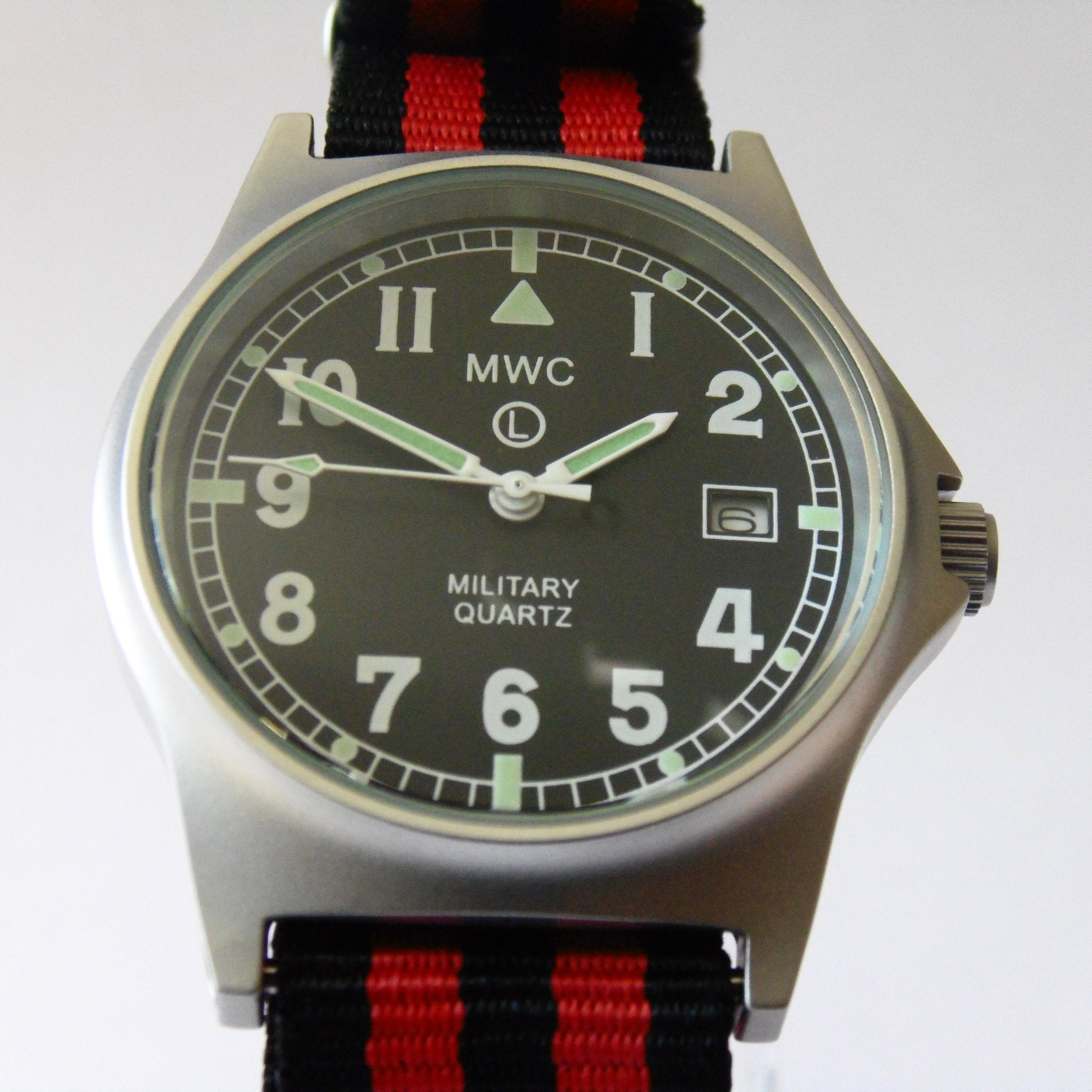 MWC G10 LM Military Watch (Luftwaffe Strap) - Watchfinder General - UK suppliers of Russian Vostok Parnis Watches MWC G10  - 1