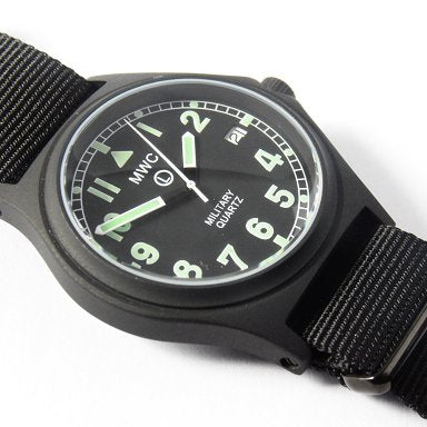 MWC G10 100m Stealth with Screw Crown - Watchfinder General - UK suppliers of Russian Vostok Parnis Watches MWC G10  - 2