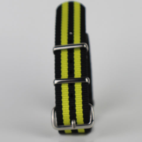 Black & Yellow Nato Strap