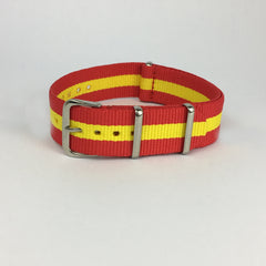 Red & Yellow Spain Nato Strap