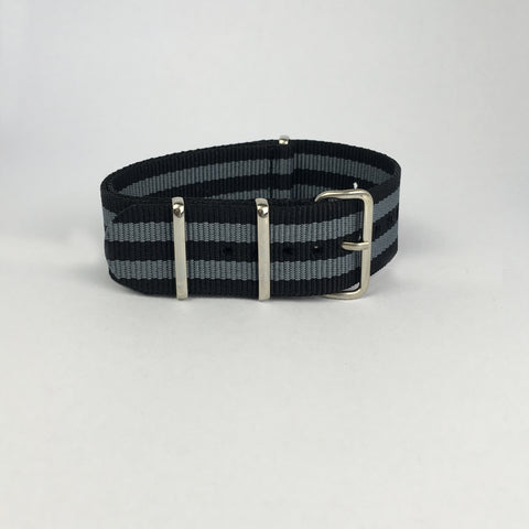 Black & Grey James Bond Nato Strap