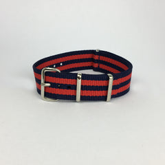 Royal Navy Red & Blue Nato Strap