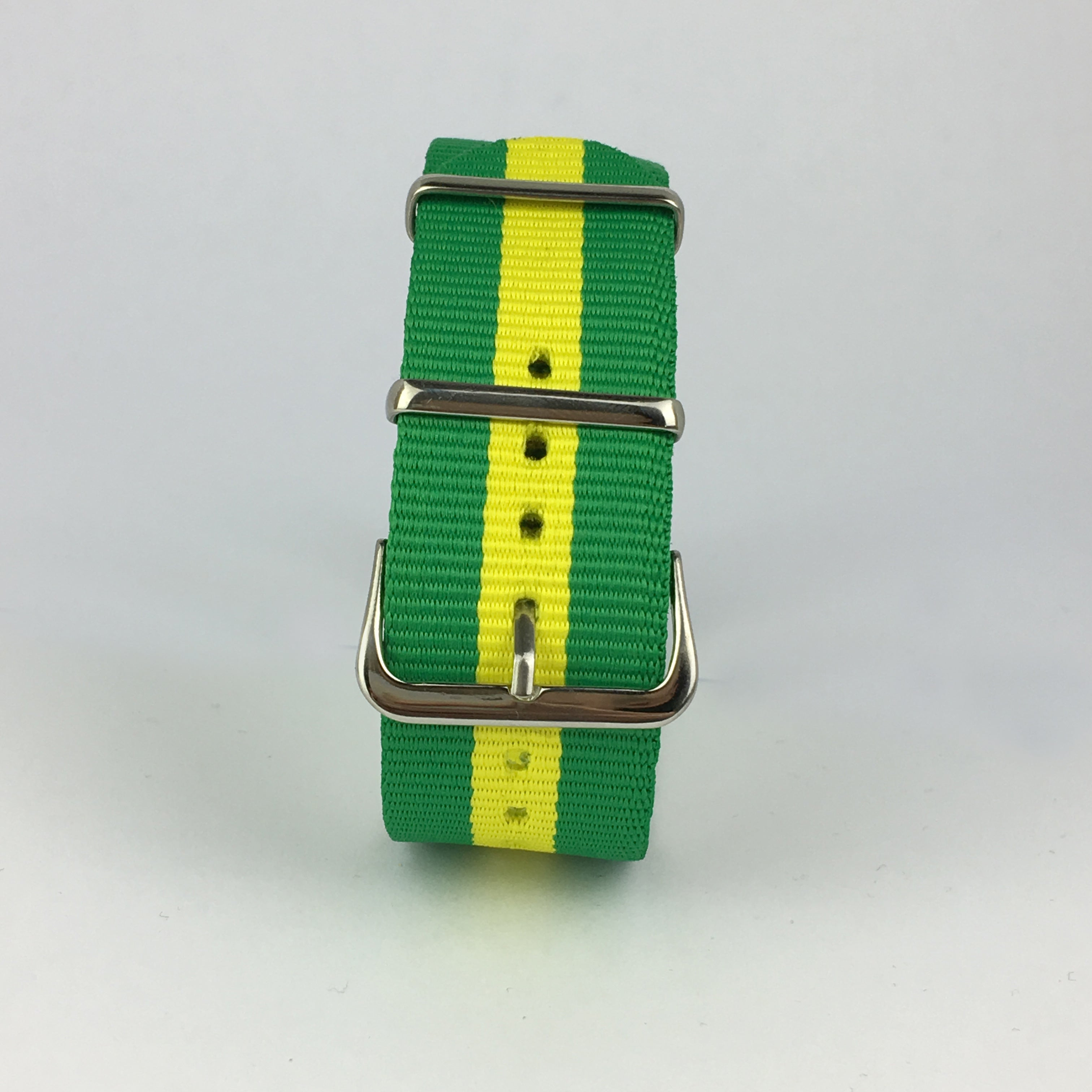 Yellow & Green Brazil Nato Strap