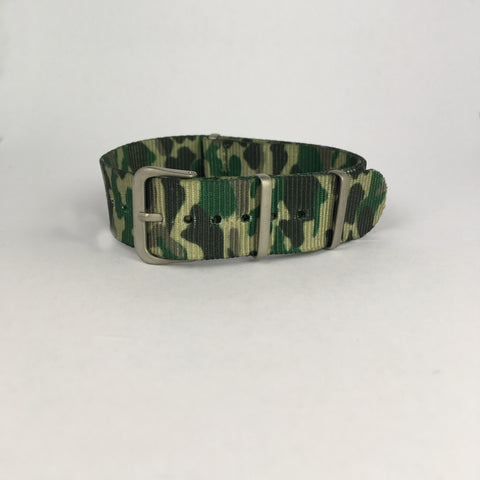 Light green Camo Nato Strap