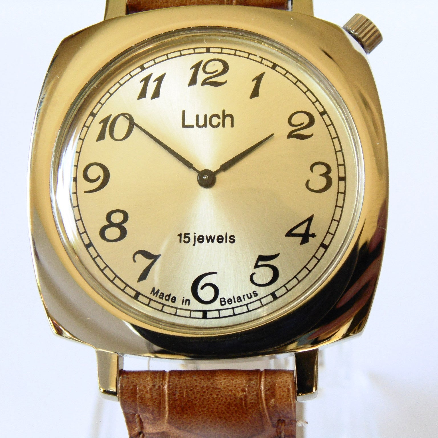 Luch Handwinding Watch - 337587249 - Watchfinder General - UK suppliers of Russian Vostok Parnis Watches MWC G10  - 4