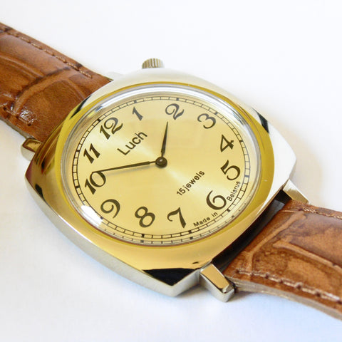 Luch Handwinding Watch - 337587249 - Watchfinder General - UK suppliers of Russian Vostok Parnis Watches MWC G10  - 2