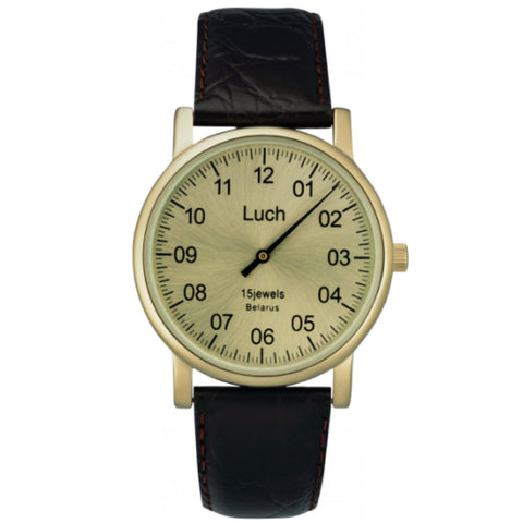 Luch Handwinding One-Handed Watch - 337477761