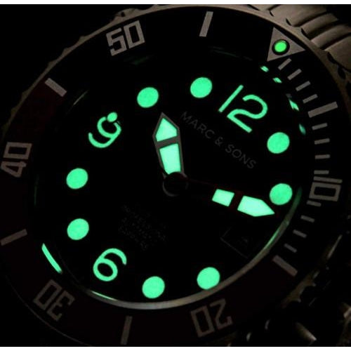 MARC & SONS 300M Professional automatic Diver watch MSD-036 - Watchfinder General - UK suppliers of Russian Vostok Parnis Watches MWC G10  - 3