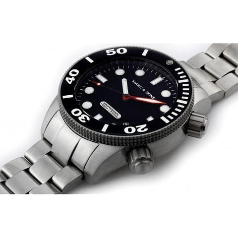 MARC & SONS 1000M Professional automatic Diver watch MSD-026 - Watchfinder General - UK suppliers of Russian Vostok Parnis Watches MWC G10  - 2