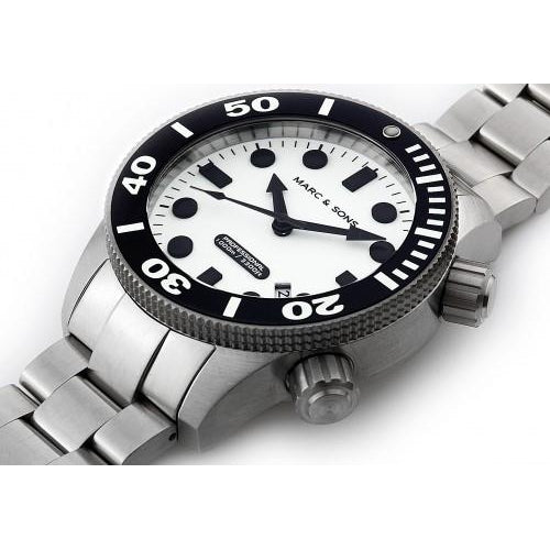 MARC & SONS 1000M Professional automatic Diver watch MSD-027 - Watchfinder General - UK suppliers of Russian Vostok Parnis Watches MWC G10  - 2