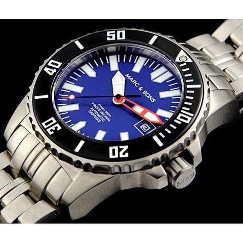MARC & SONS 300M Professional automatic Diver watch MSD-030 - Watchfinder General - UK suppliers of Russian Vostok Parnis Watches MWC G10  - 2