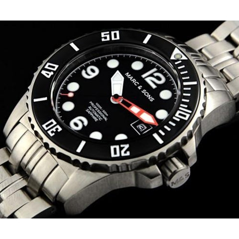 MARC & SONS 300M Professional automatic Diver watch MSD-033 - Watchfinder General - UK suppliers of Russian Vostok Parnis Watches MWC G10  - 2