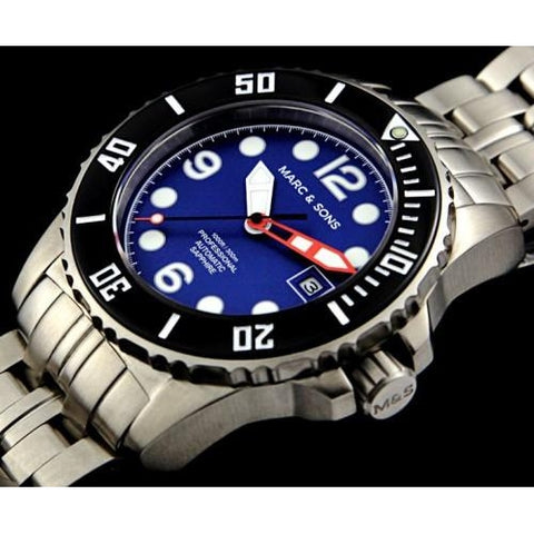 MARC & SONS 300M Professional automatic Diver watch MSD-034 - Watchfinder General - UK suppliers of Russian Vostok Parnis Watches MWC G10  - 2