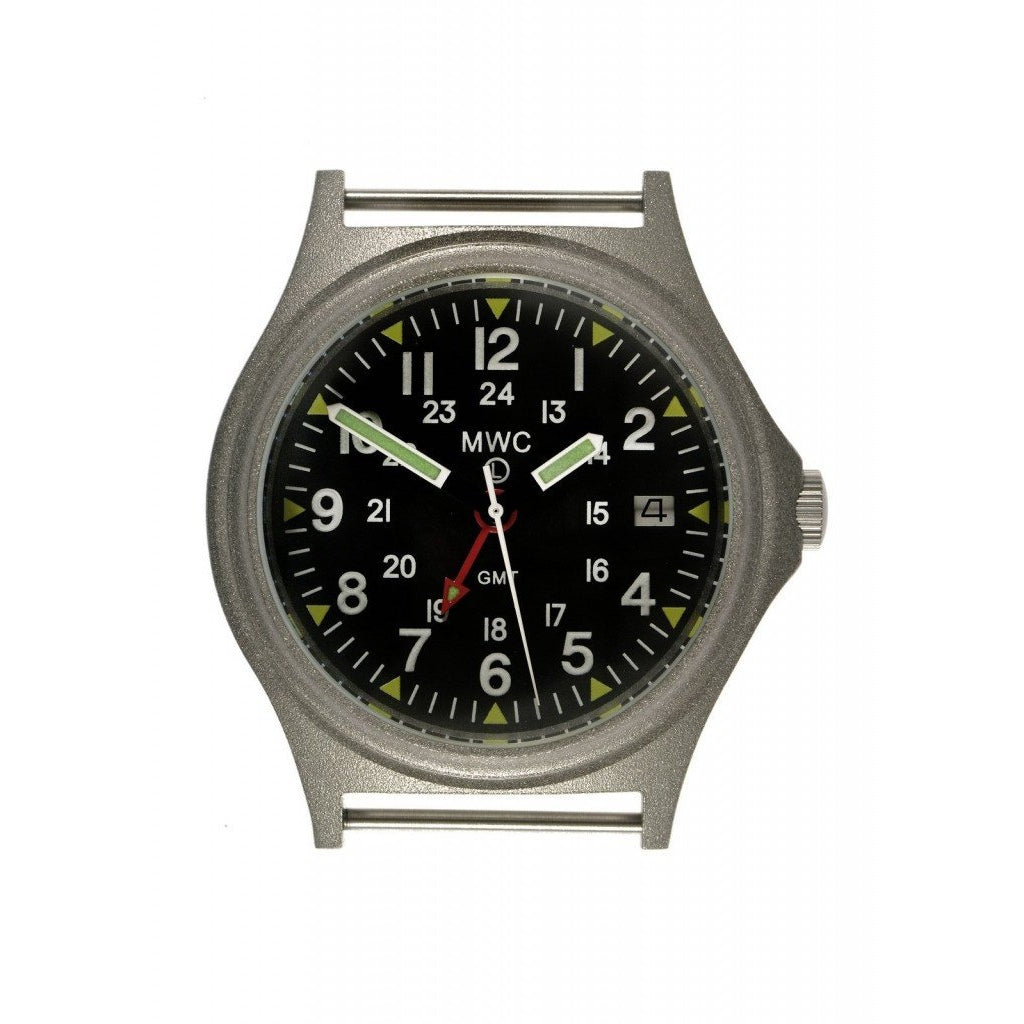 MWC GMT 100m Water Resistant Model with Stainless Steel Case