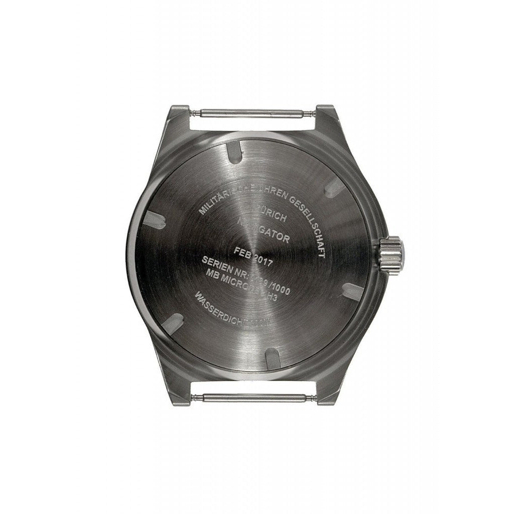 MWC 300m Stainless Steel GTLS Navigator Sterile Dial