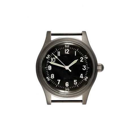 A-11 1940s WWII Pattern Military Watch (Automatic) - Watchfinder General - UK suppliers of Russian Vostok Parnis Watches MWC G10  - 2
