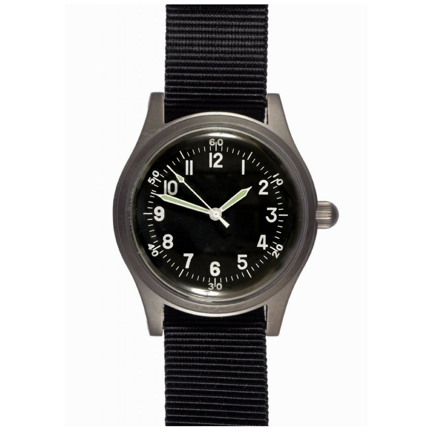 A-11 1940s WWII Pattern Military Watch (Automatic or Handwound)