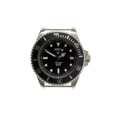 MWC Quartz 300m Stainless Steel Submariner - Watchfinder General - UK suppliers of Russian Vostok Parnis Watches MWC G10  - 2