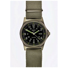 MWC G10 LM Military Watch 12/24hr Dial