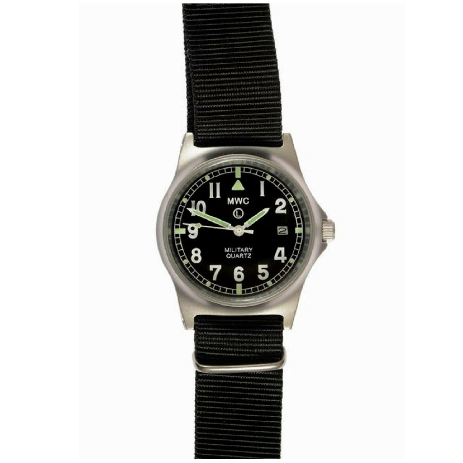 MWC G10 LM Military Watch (Black Strap)