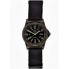 MWC G10 LM Military Watch PVD 12/24 Dial
