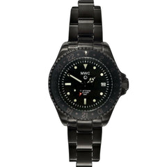 MWC GMT Dual Timezone Military Watch PVD With Bracelet