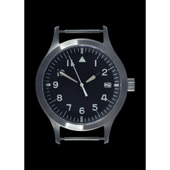 MWC Mk III Stainless Steel 1950's Pattern 100m Water Resistant Automatic Military Watch with Sapphire Crystal Sterile
