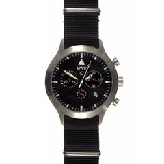 MWC MIL-TEC MKIV Stainless Steel Military Pilots Chronograph - Watchfinder General - UK suppliers of Russian Vostok Parnis Watches MWC G10  - 1