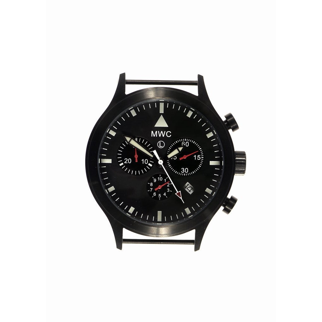 MWC MIL-TEC MKVI PVD Stainless Steel Military Pilots Chronograph - Watchfinder General - UK suppliers of Russian Vostok Parnis Watches MWC G10  - 2