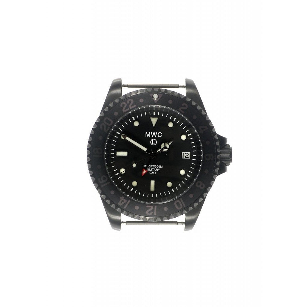 MWC GMT Dual Timezone Military Watch in PVD - Watchfinder General - UK suppliers of Russian Vostok Parnis Watches MWC G10  - 2
