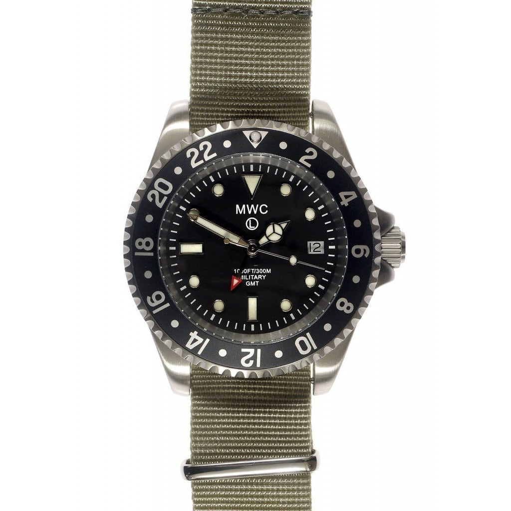 MWC GMT Dual Timezone Military Watch
