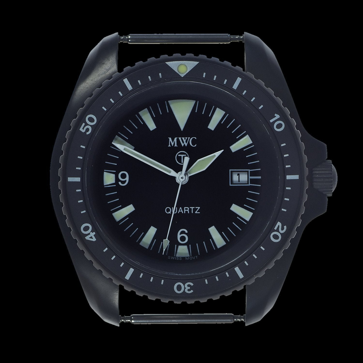 MWC 1999-2001 Pattern Quartz Military Divers Watch on Black NATO Strap / Brand New & Unissued