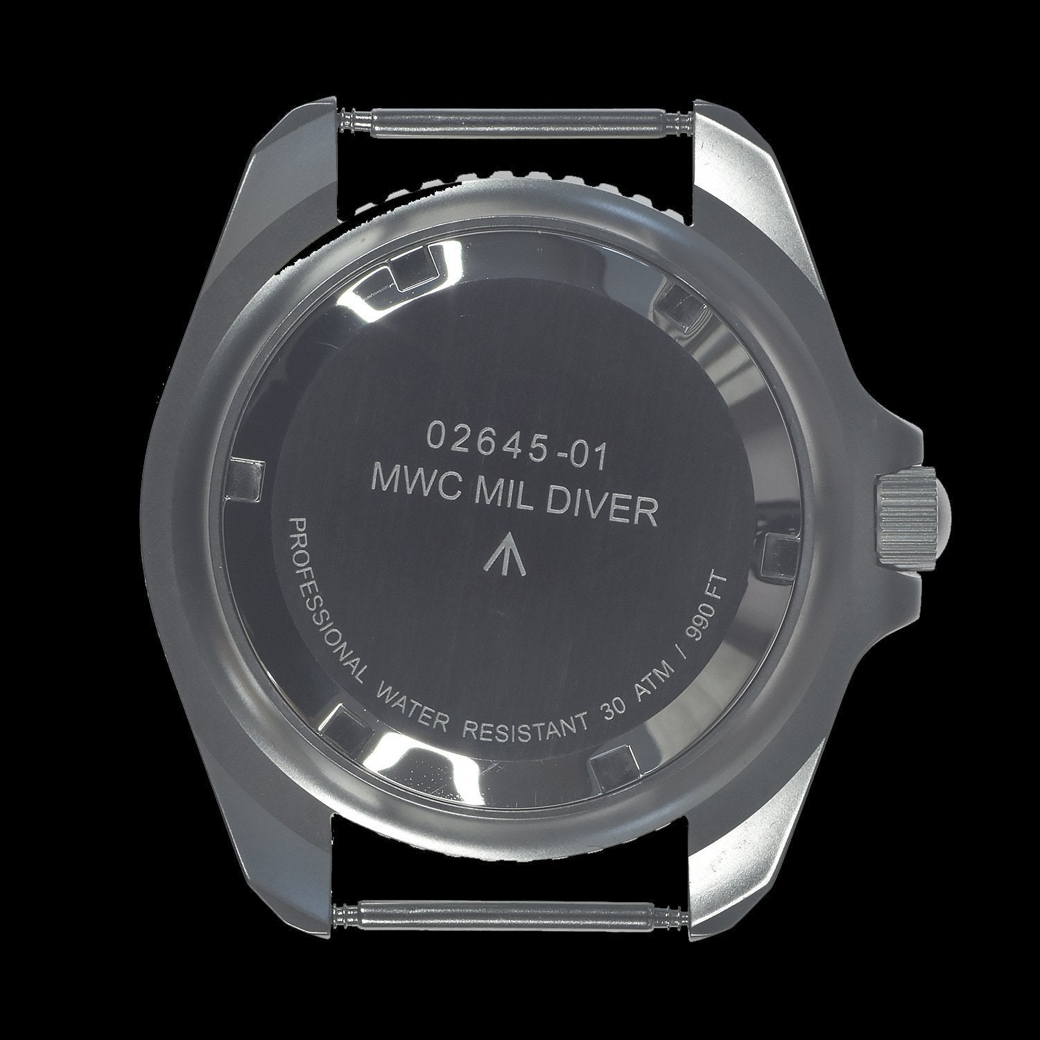 MWC 1999-2001 Pattern Stainless Steel Quartz Military Divers Watch on Grey NATO Strap / Brand New & Unissued