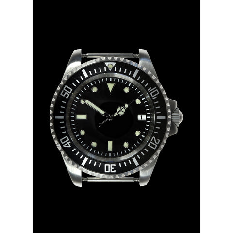 MWC 24 Jewel 300m Water Resistant 24 Jewel Automatic Military Specification Divers Watch on NATO Strap (Sterile)