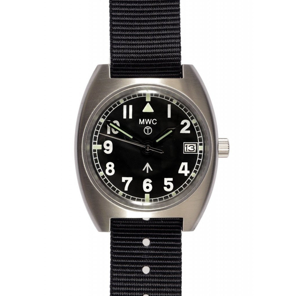 MWC W10 1970s Pattern Automatic with Date - Watchfinder General - UK suppliers of Russian Vostok Parnis Watches MWC G10  - 1