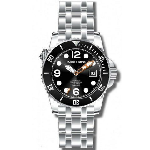 MARC & SONS 300M Professional automatic Diver watch MSD-033