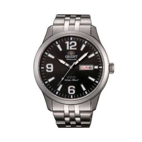 Orient Tristar Automatic Watch with Stainless Steel Bracelet RA-AB0007B19B