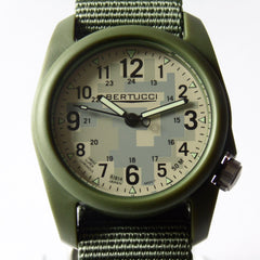 Bertucci DX3 Field Resin Watch, Olive Drab Nylon Strap, Digicam Camouflage Dial 11032 - Watchfinder General - UK suppliers of Russian Vostok Parnis Watches MWC G10  - 2