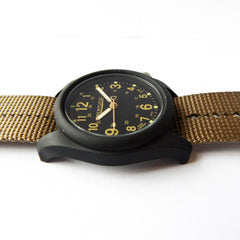 Bertucci DX3 Plus Field Resin Watch (Dash-Striped Desert Nylon Strap) 11041 - Watchfinder General - UK suppliers of Russian Vostok Parnis Watches MWC G10  - 4